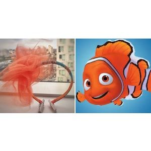 Custom Made Finding Nemo Headband (Girls)